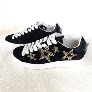 Coach Black Star Embellished Sneakers